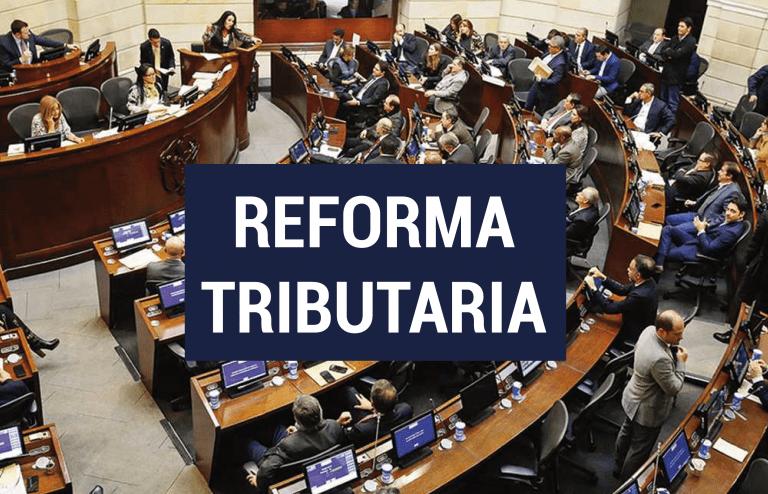 En menos de un día, Congreso debatió y aprobó la nueva Reforma Tributaria