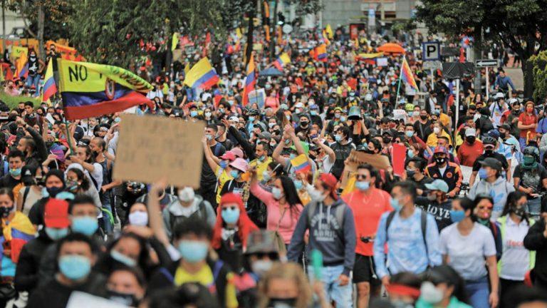 Comité del Paro convoca a nuevas manifestaciones para el 28 de septiembre