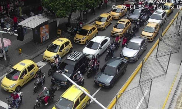 ¿Dónde están los agentes de tránsito en Medellín?