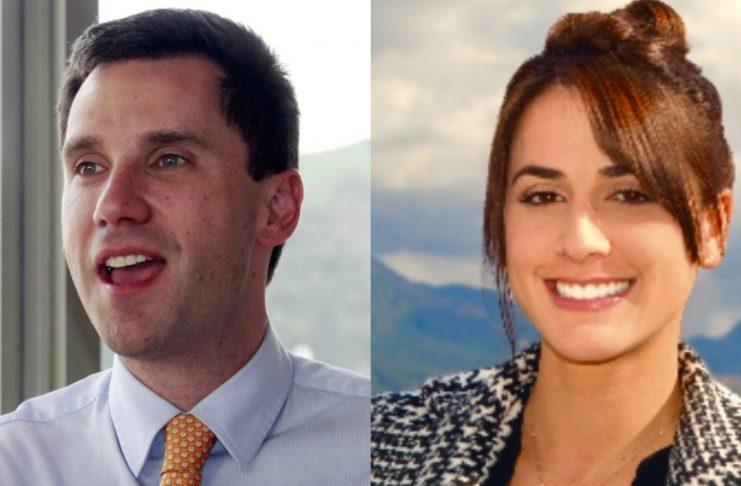Juan Pablo Díaz Granados y Sandra Viviana Giraldo salen de Mininterior