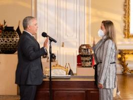 Carmen Ligia Valderrama es designada por Iván Duque como la nueva ministra TIC