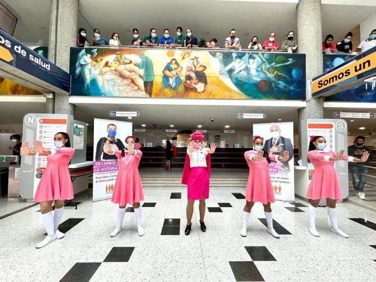 Hospital General de Medellín adelanta campaña para detección temprana de cáncer de mama