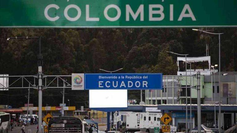 Ecuador mantendrá cerrada su frontera con Colombia hasta alcanzar inmunidad de rebaño