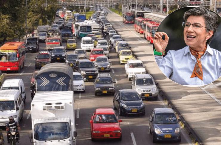 Autopista Norte en Bogotá quieren bajarla de 10 carriles a 4. Gran polémica por el POT en la capital del país.